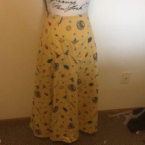 Vintage Alexander Campbell Tribal Skirt Size 12